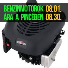 Benzinmotor akció